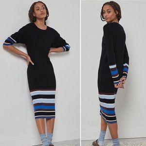 Anthropologie NWT Parvati Knit Midi Dress sz M